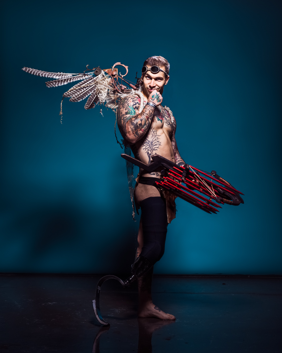 Alex Minsky: Steampunk Cupid by Eric Schwabel