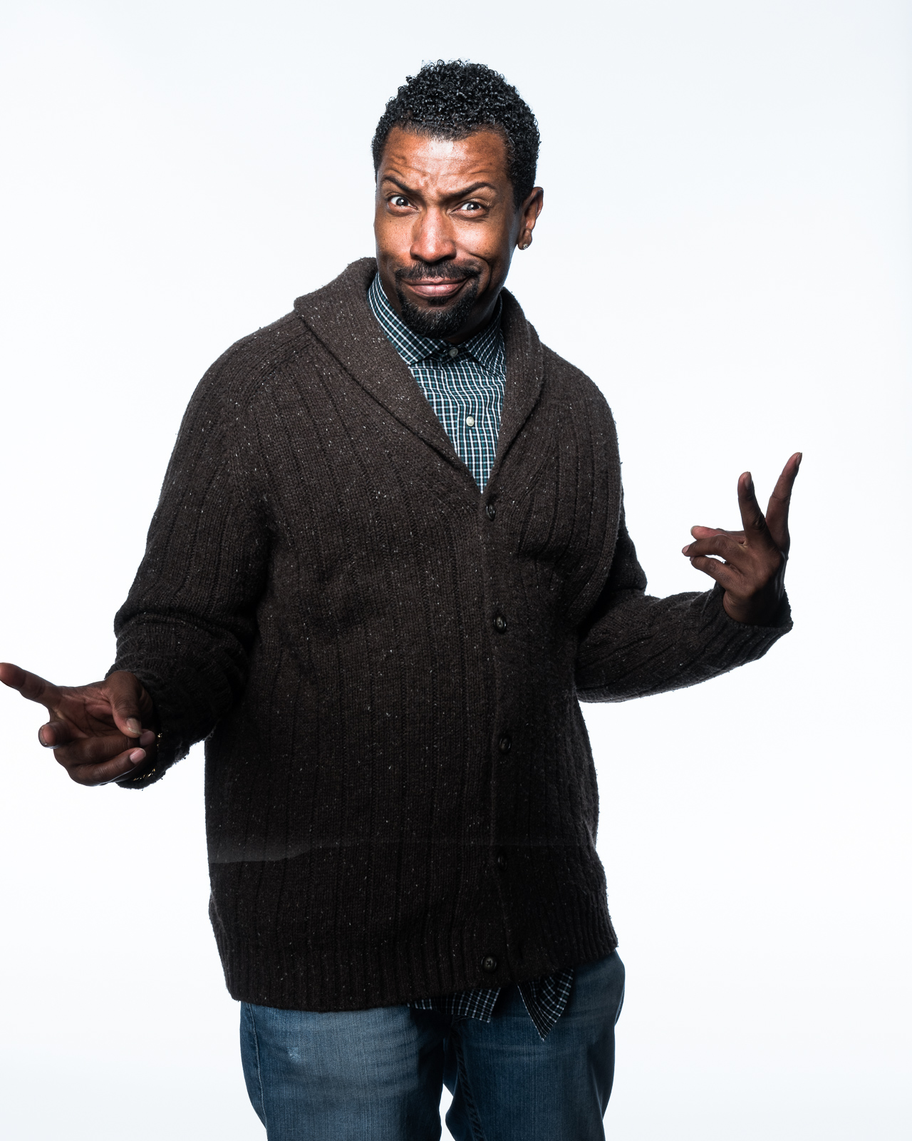 Deon Cole by Eric Schwabel