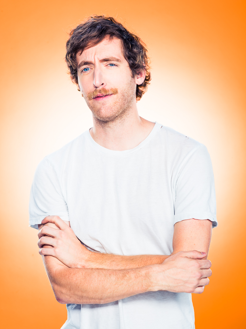Thomas Middleditch photographed by Eric Schwabel