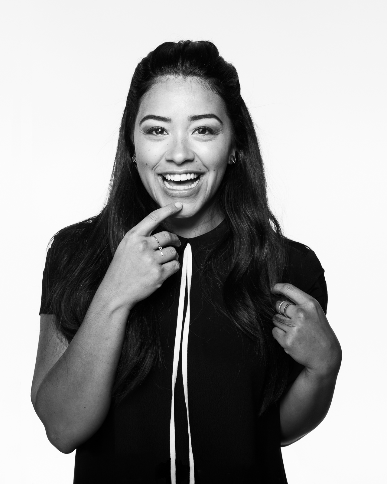 Gina Rodriguez by Eric Schwabel