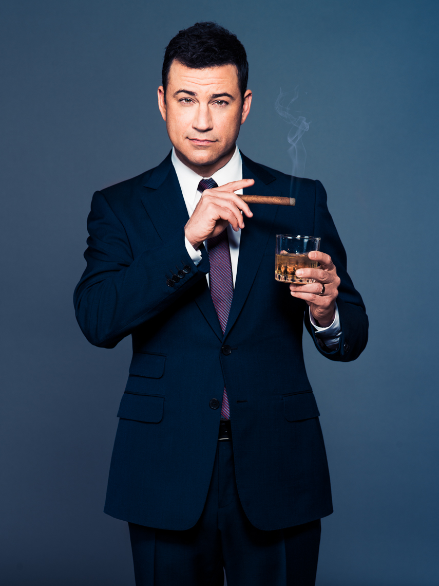 Jimmy Kimmel photographed by Eric Schwabel