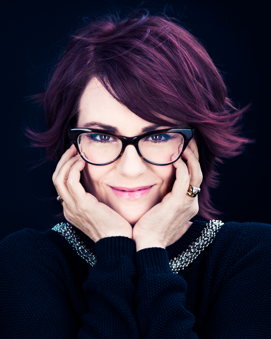 Megan Mullally photographed by Eric Schwabel