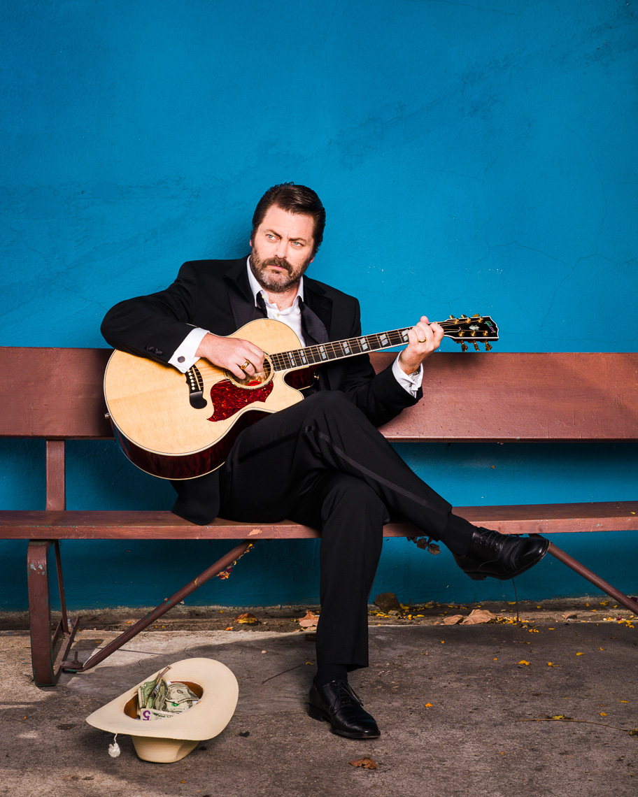 Nick Offerman photographed by Eric Schwabel