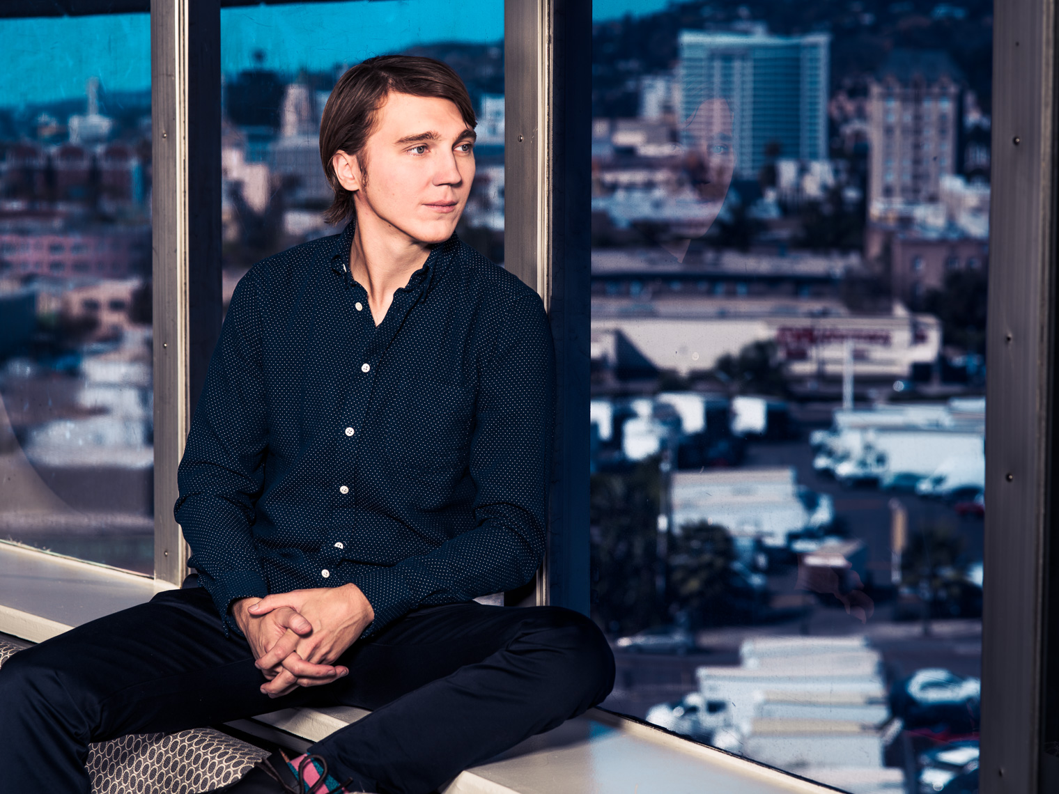Paul Dano photographed by Eric Schwabel