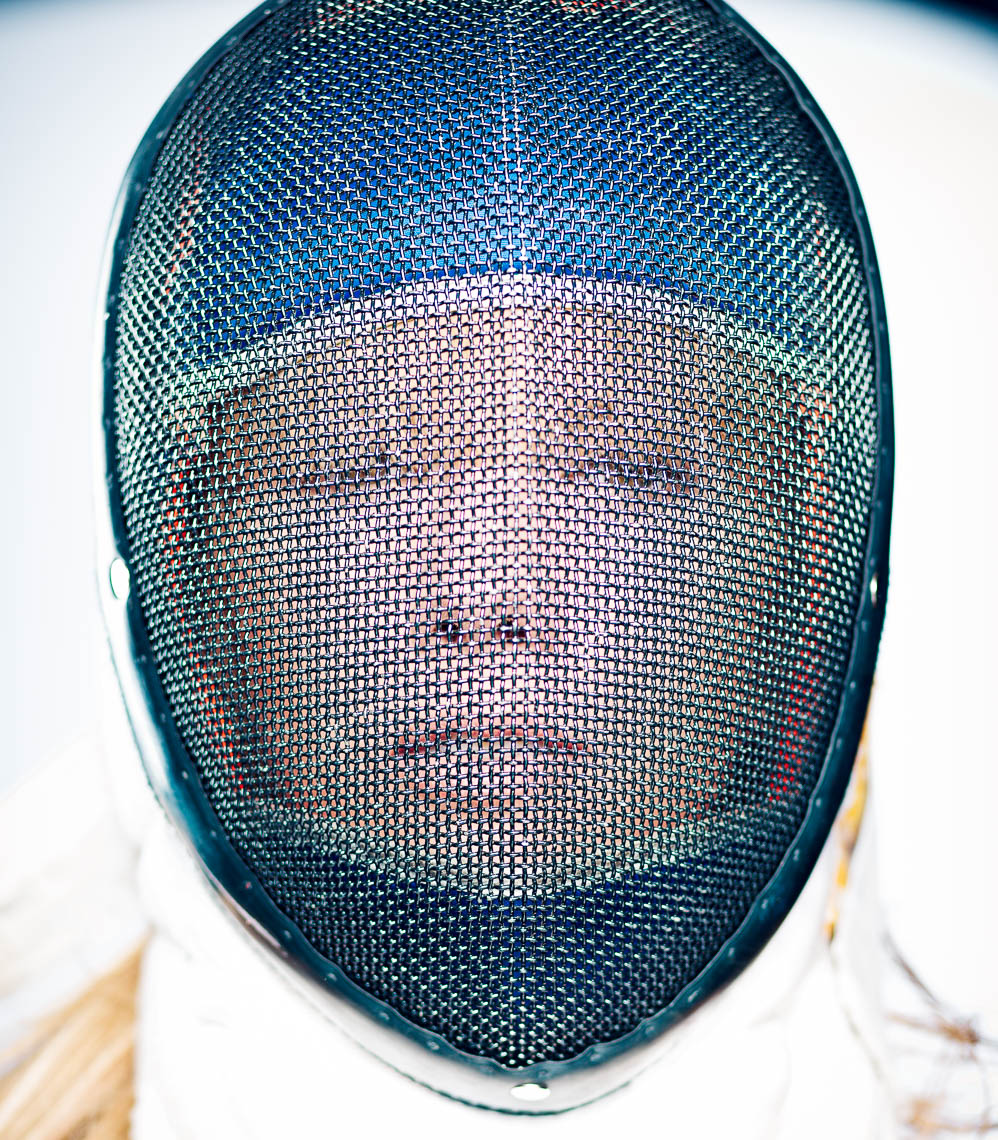 Fencing no. 1 by Eric Schwabel