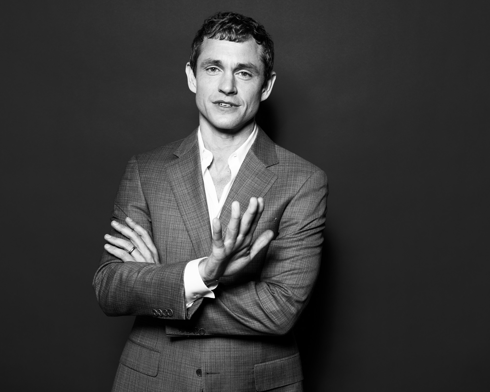 Hugh Dancy photographed by Eric Schwabel