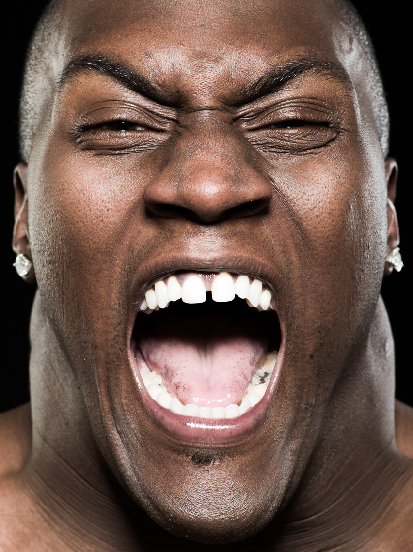 Takeo Spikes photographed by Eric Schwabel